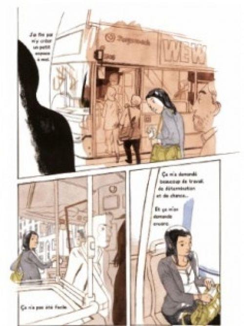 Un Thé pour Yumiko, bd chez Gallimard de Obata