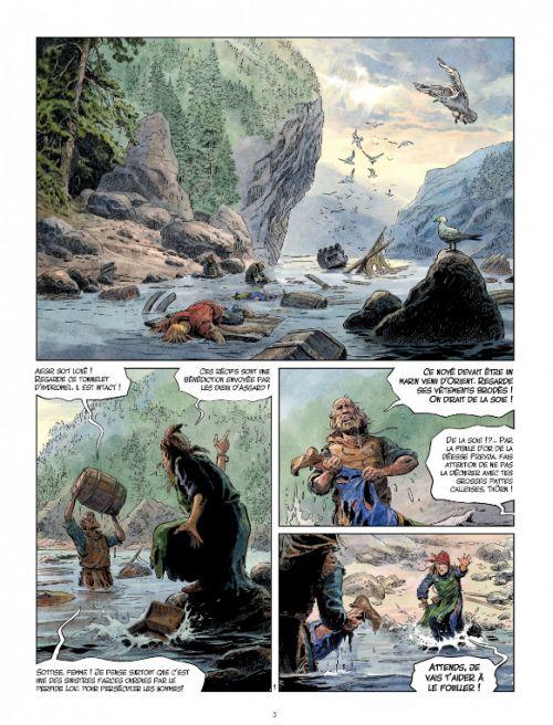 Les Mondes de Thorgal – cycle Louve, T4 : Crow (0), bd chez Le Lombard de Yann, Surzhenko, Rosinski