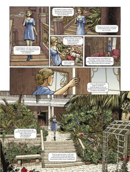Flor de Luna – cycle 2, T5 : Christie (0), bd chez Glénat de Boisserie, Lambert, Langlois, Pradelle
