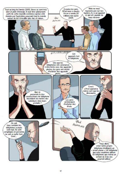 Steeve Jobs : Celui qui rêvait le futur (0), bd chez 21g de Tayal, Quinn