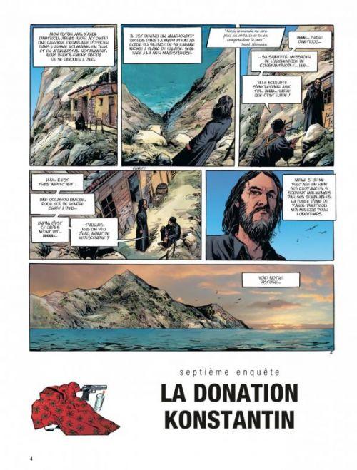 Tony Corso T7 : La Donation de Konstantin (0), bd chez Dargaud de Berlion