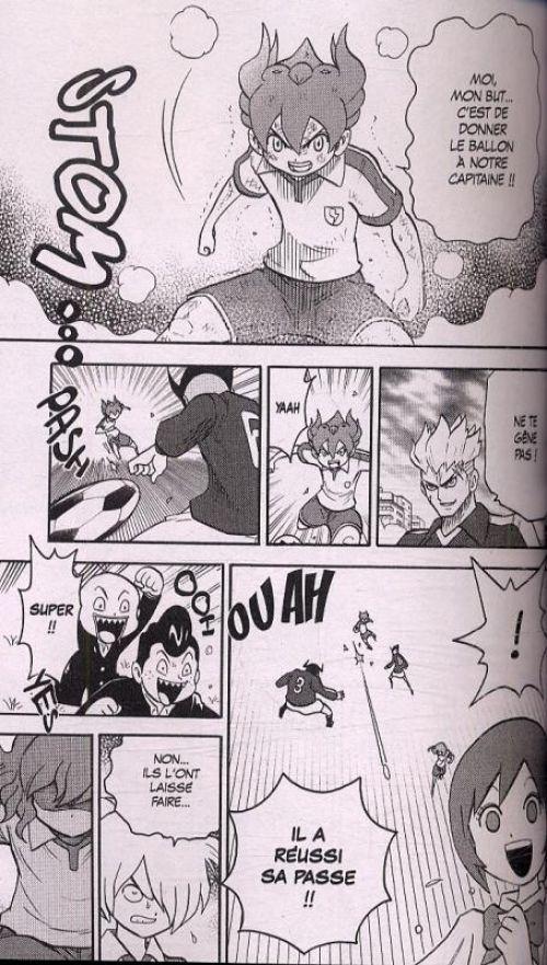 Inazuma eleven GO T1, manga chez Kurokawa de Yabuno, Level-5