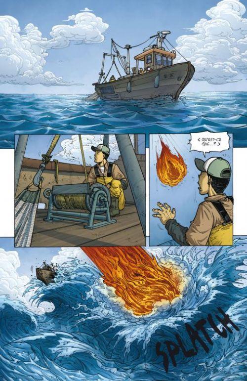 SuperWorld T2 : Big Bang (0), comics chez Delcourt de Rivière, Follini, Corgié, Hans