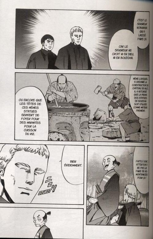 Le chef de Nobunaga T1, manga chez Komikku éditions de Nishimura, Kajikawa