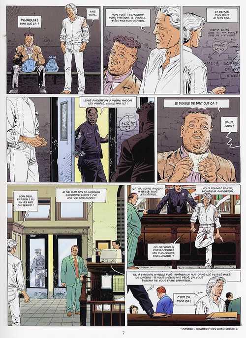 Une folie très ordinaire T1 : Lewis Anderson (0), bd chez Glénat de Godard, Mounier, Bonnet, Blanc-Dumont, Rossi, Rita
