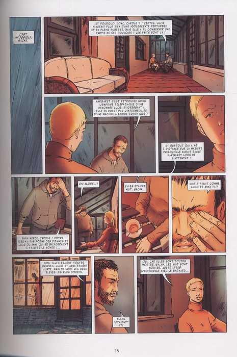 Le monde de Lucie T2, bd chez Futuropolis de Kris, Martinez, Thomas