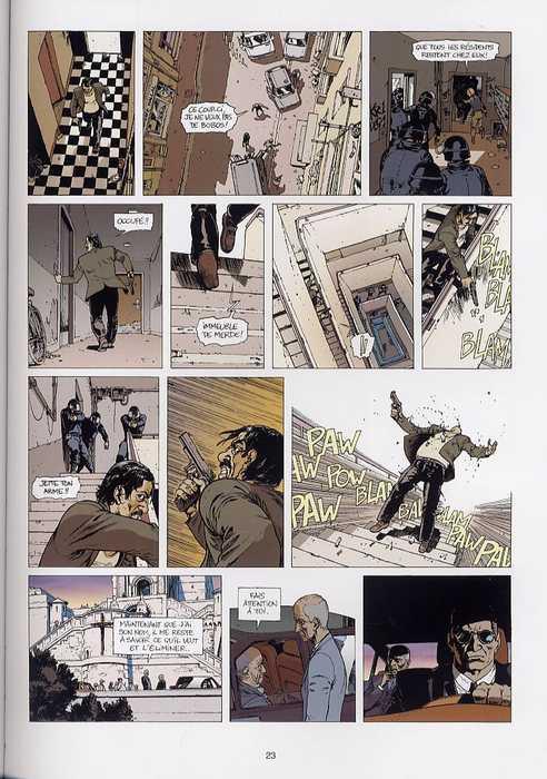 Sans pitié T2 : Coupe franche (0), bd chez Emmanuel Proust Editions de Génot, Pradelle, Thomas