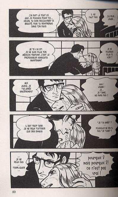 Kirihito T4, manga chez Delcourt de Tezuka
