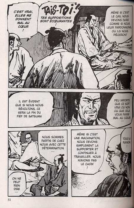 Satsuma, l'honneur de ses samouraïs T6, manga chez Delcourt de Hirata