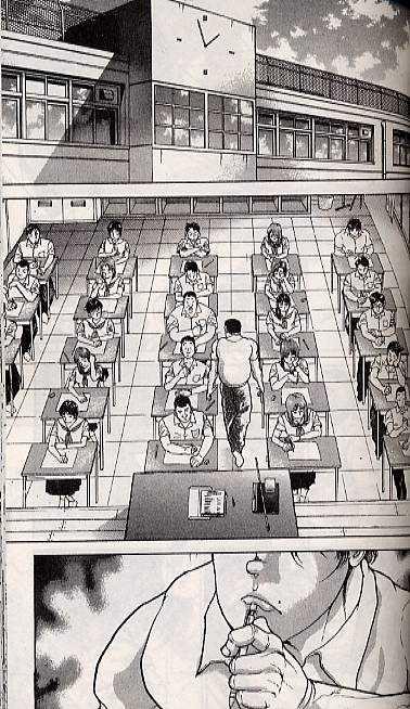 Baki T5, manga chez Delcourt de Itakagi