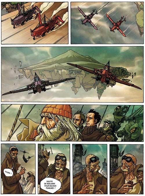 La lande des aviateurs T1 : Ceux qui restent (0), bd chez Les Humanoïdes Associés de Bilotta, Di Giandomenico, Studio KMzero