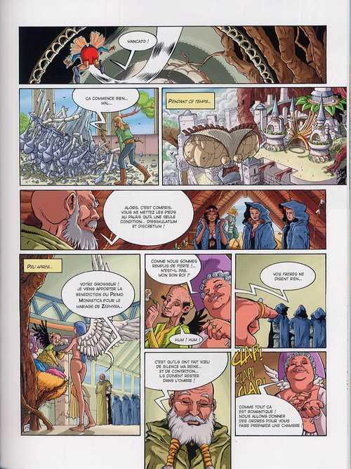 Lothario Grimm T4 : La citadelle de plumes (0), bd chez Les Humanoïdes Associés de Galliano, Mantovani, Jacquemoire