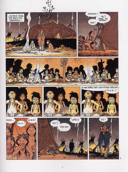 Popotka le petit sioux T6 : Le bison (0), bd chez Delcourt de Chauvel, Simon