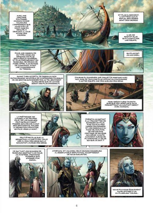 Elfes – cycle Les elfes bleus, T6 : La mission des Elfes bleus (0), bd chez Soleil de Istin, Duarte, Studio Impacto