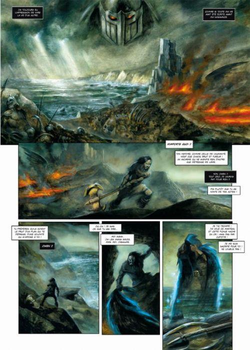 Arawn T6 : La terre brûlée (0), bd chez Soleil de Le Breton, Grenier