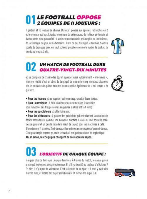 Le foot expliqué aux filles, à ma mère et à Didier Deschamps, bd chez Delcourt de Larrouy, Hervez, Bouzard