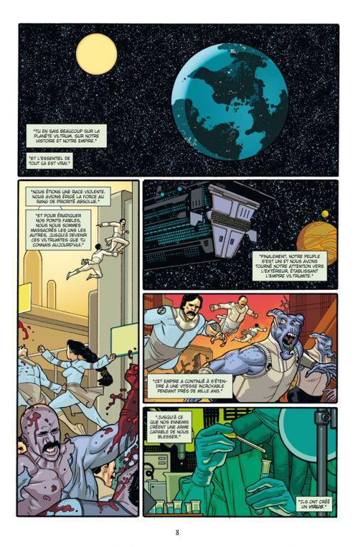 Invincible T12 : Le calme avant la tempête (0), comics chez Delcourt de Cereno, Kirkman, Walker, Ottley, Bellegarde, McCaig, Crabtree, FCO Plascencia