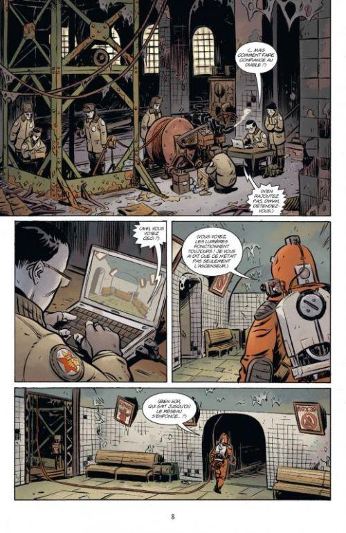 B.P.R.D. - L'enfer sur Terre T2 : La longue mort (0), comics chez Delcourt de Mignola, Arcudi, Fegredo, Crook, Harren, Stewart