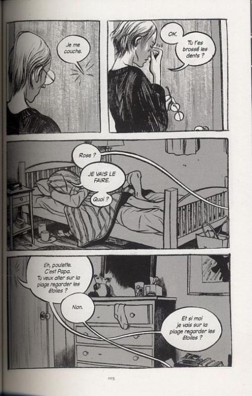 Cet été-là, comics chez Rue de Sèvres de Tamaki, Tamaki