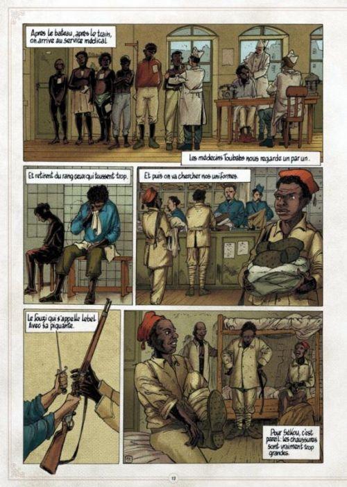 Demba Diop, bd chez Physalis de Tempoe, Mor, Daniel