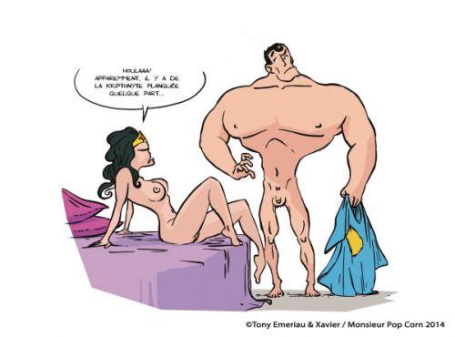 Sticky pants T1 : (ça colle et ça moule les bollocks !) (0), comics chez Monsieur Pop Corn de Emeriau, Xav
