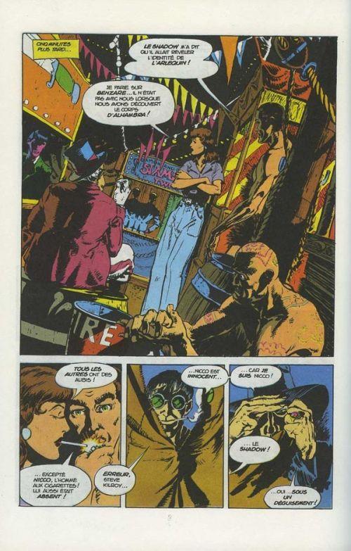 The Shadow T24 : Le royaume du Cobra (0), comics chez Glénat de Kaluta, Wrightson, Kindzierski