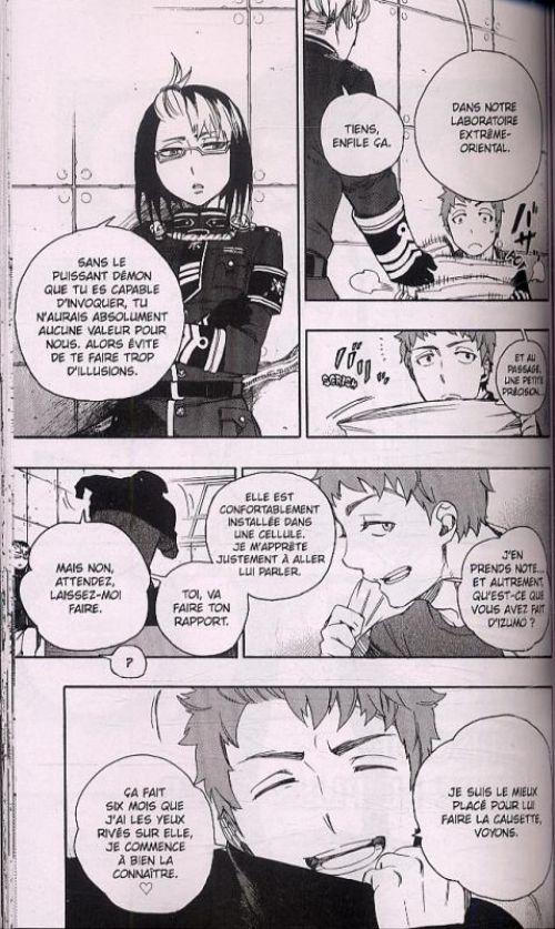 Blue exorcist T12, manga chez Kazé manga de Kato