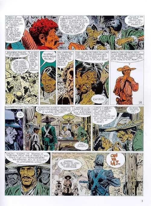 Blueberry – cycle 5 : Le trésor des confédérés, T14 : L'homme qui valait 500 000 $ (0), bd chez Hachette de Charlier, Giraud