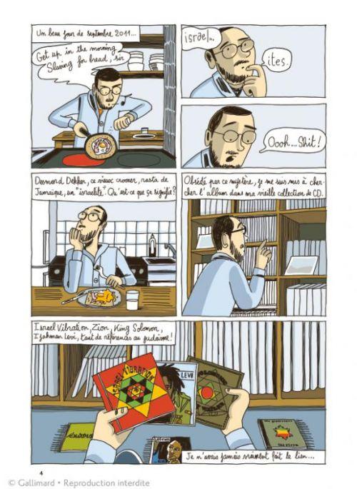 Dispersés dans Babylone, bd chez Gallimard de Dres