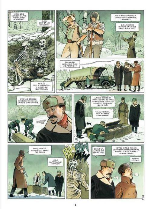 Nous, Anastasia R. T3 : Retour à Sverdlov (0), bd chez Bamboo de Ordas, Cothias, Berr, Bouët