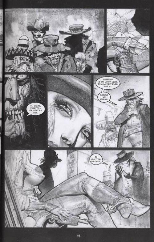 Pour une poignée de sang !, comics chez Editions USA de Eastman, Bisley