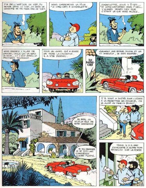 Tif et Tondu T8 : La villa du Long-Cri (0), bd chez Hachette de Rosy, Will