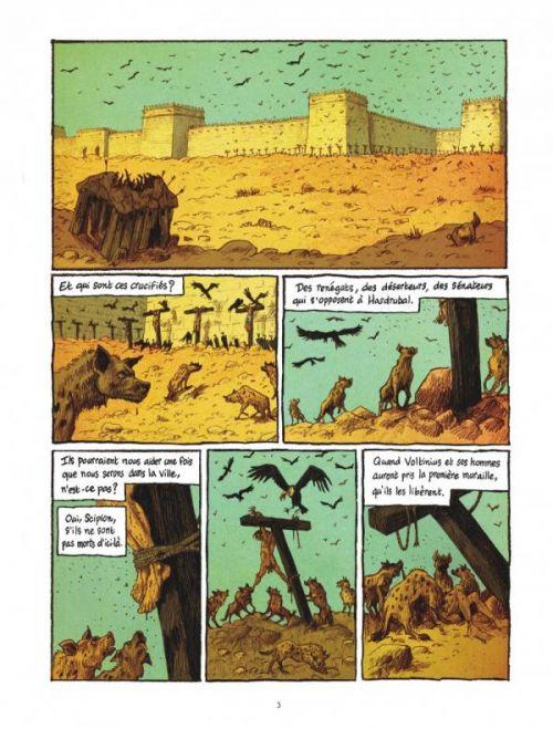 Les Voleurs de Carthage T2 : La nuit de Baal-Moloch (0), bd chez Dargaud de Appollo, Tanquerelle, Merlet