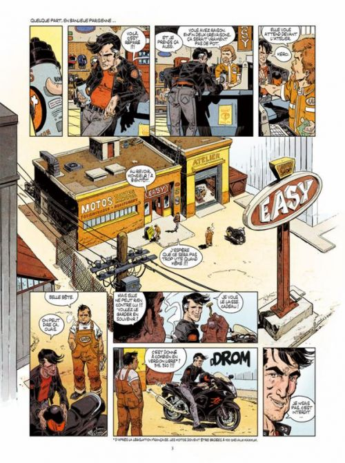 Angles morts T1 : Le gang des Hayabusa (0), bd chez Paquet de Bétaucourt, Astier