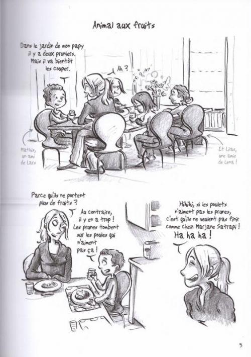 Etats dames, bd chez Jarjille éditions de Zelba