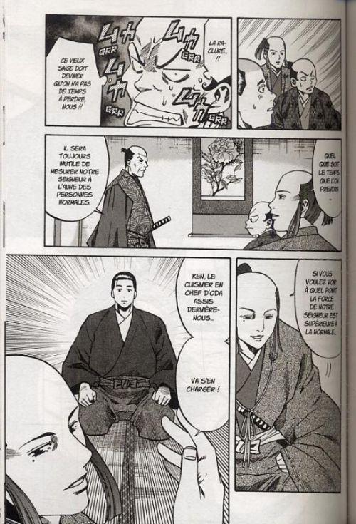 Le chef de Nobunaga T3, manga chez Komikku éditions de Nishimura, Kajikawa