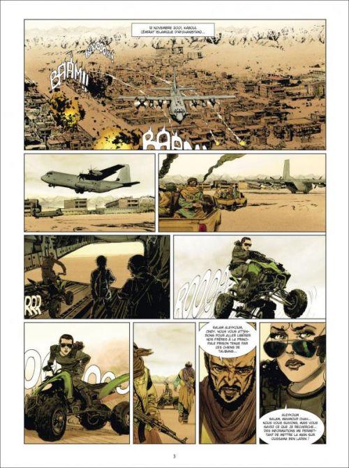 La Traque T1 : Tora Bora (0), bd chez Delcourt de Bartoll, Jef