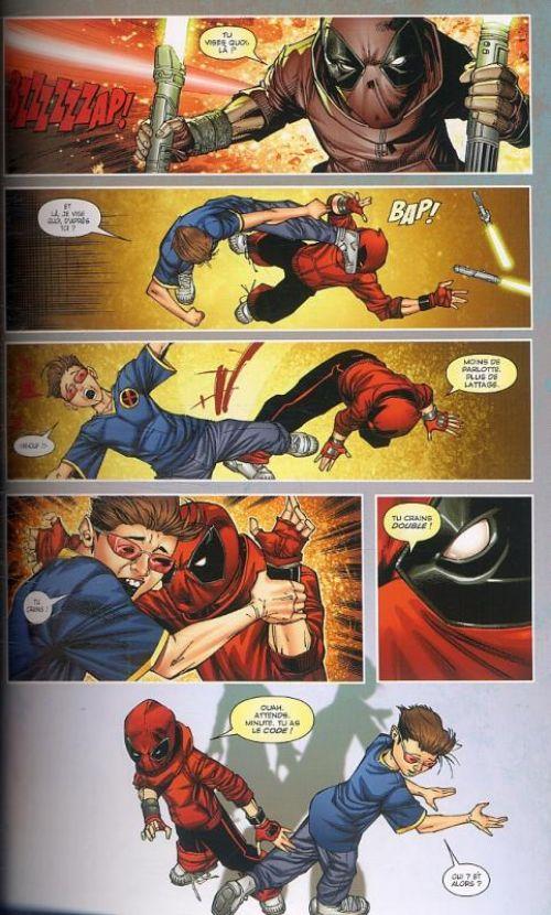 Deadpool Corps : Le club des cinq (0), comics chez Panini Comics de Gischler, Baker, Bond, Liefeld, Medina, Portacio, Yackey, Mason, Tikulin, Delgado, Johnson