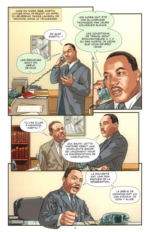 Martin Luther King Jr : Le rêve assassiné  (0), bd chez 21g de Teitelbaum, Helfand, Kumar, Sherawat, Sharma
