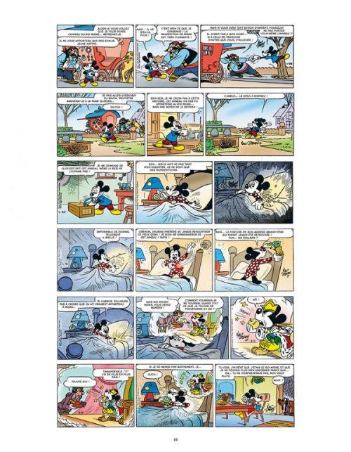 L'Age d'or de Mickey Mouse T10 : 1952 / 1953 - Le Roi Midas et autres histoires (0), comics chez Glénat de Gottfredson