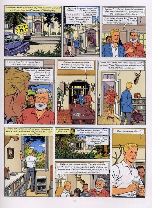 Lefranc T25 : Mission Cuba (0), bd chez Casterman de Seiter, Régric, Wesel
