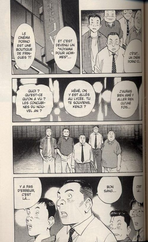 20th Century Boys – Edition deluxe, T1, manga chez Panini Comics de Urasawa