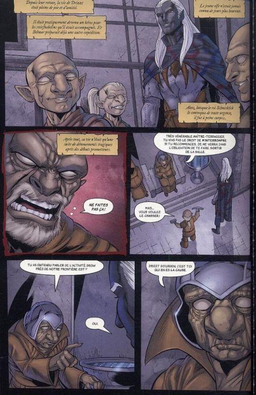 Dungeons & Dragons - La légende de Drizzt : Terre natale / Terre d'exil / Terre promise (0), comics chez Milady Graphics de Dabb, Salvatore, Seeley, Blond, Lockwood