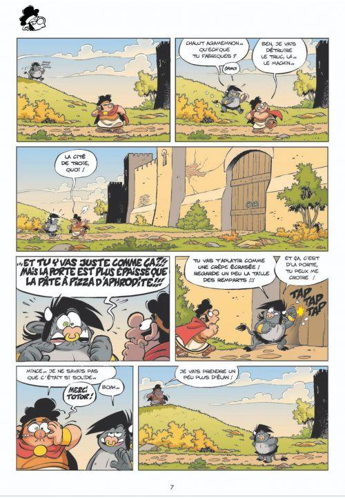 Les Petits mythos T4 : Poséidon d'avril (0), bd chez Bamboo de Cazenove, Larbier