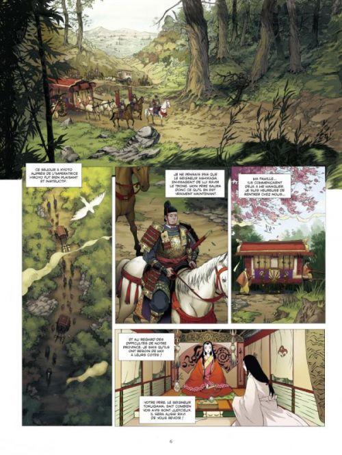L'Ombre des Shinobis T1 : Premier rouleau (0), bd chez Glénat de Runberg, Zhifeng