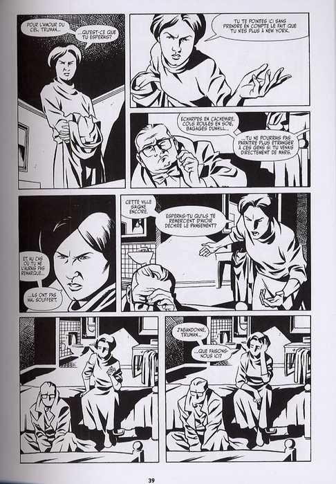 Capote in Kansas, comics chez Akileos de Parks, Samnee