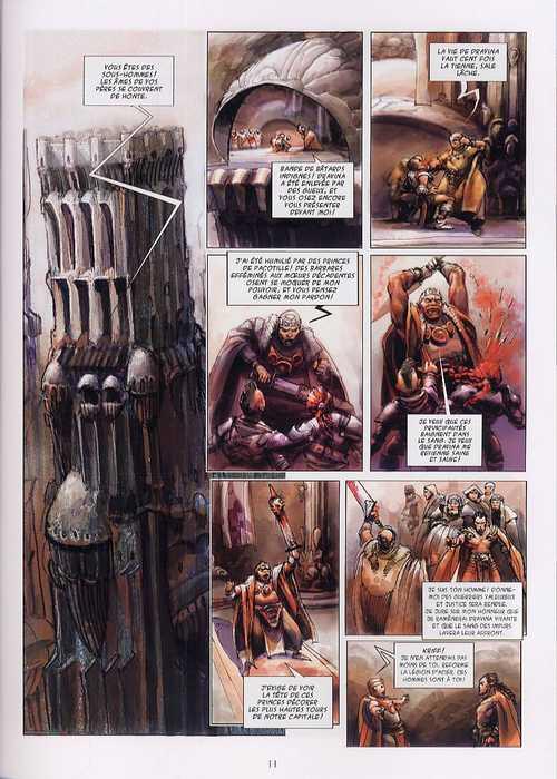 La chute du Dragon noir T1 : Nadir (0), bd chez Delcourt de Miroslav Dragan, Josic