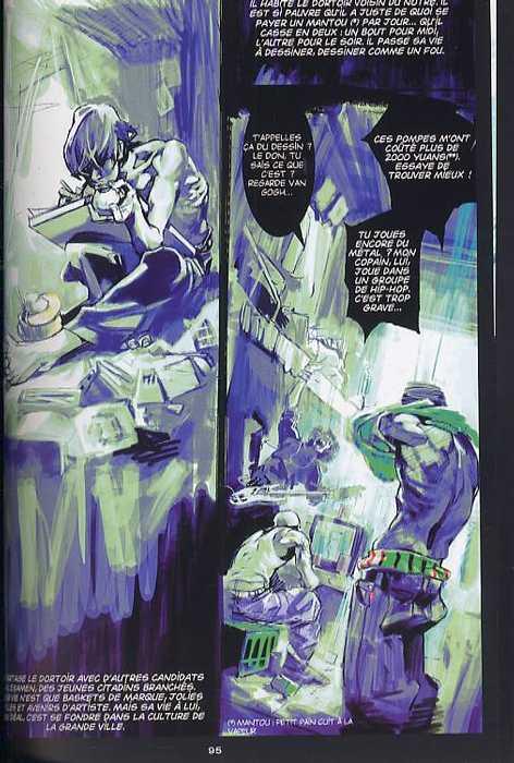 Remember, manga chez Xiao Pan de Benjamin