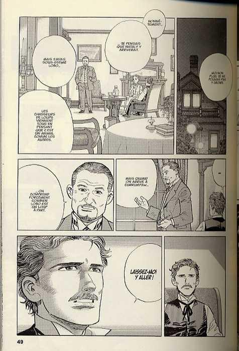 Seton T1 : Livre 1 : Lobo, le roi des loups (0), manga chez Kana de Imaizumi, Taniguchi