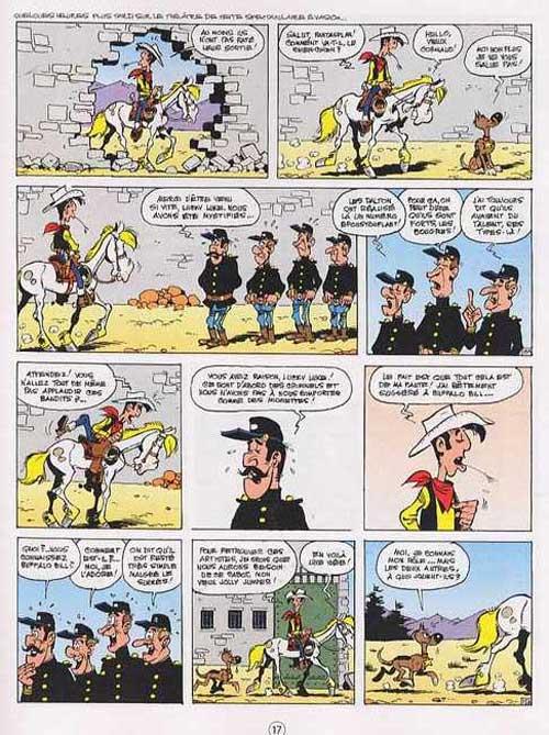 Lucky Luke T72 : La légende de l'ouest (0), bd chez Lucky Comics de Nordman, Morris, Léonardo